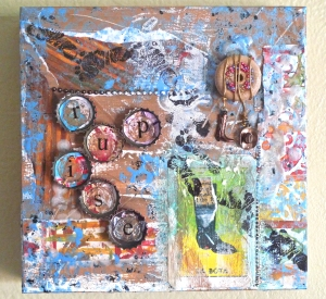 Mixed-media and Personification